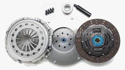 Transmission - Manual Transmission Clutches - South Bend Clutch - South Bend NV5600 Organic/Feramic Clutch Kit W/Flywheel, 475HP, 25K Towing (2000.5-2005.5)