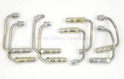 Fuel System - OEM Fuel System - Lincoln Diesel Specialites* - Brand New Aftermarket LB7 High Pressure Fuel Line Set (2001-2004)