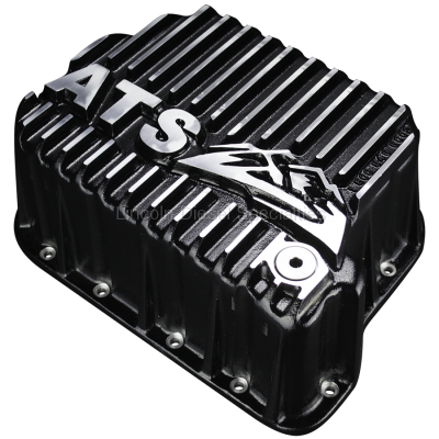 ATS Diesel Performance - ATS Dodge/Cummins 5.9L,  Deep Transmission Pan, Black, 46/7/8-RH/E (1997-2007)