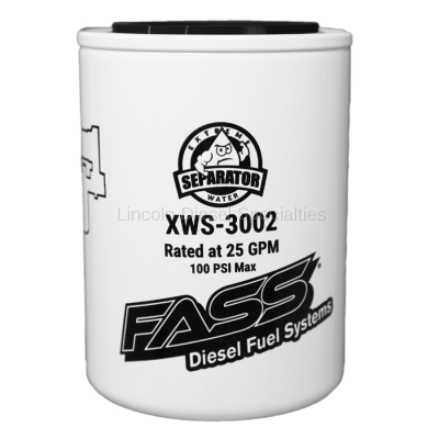 2010-2012 24 Valve 6.7L - Filters - Fass - FASS Fuel System Extreme Water Separator
