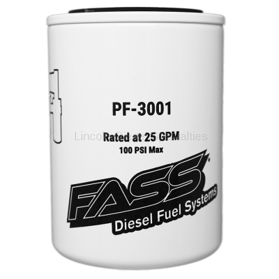 Fuel System - Fuel Filters - Fass - FASS Fuel Systems Replacement Fuel Filter