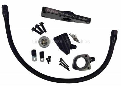 Cooling System - Hoses, Kits, Pipes and Clamps - Fleece - Fleece Performance Coolant By-Pass Kit (2007.5-2018)*