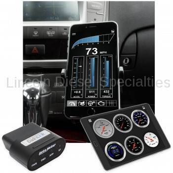 Auto Meter - Auto Meter Dashlink, OBDII Digital Gauge, Apple IOS/Android