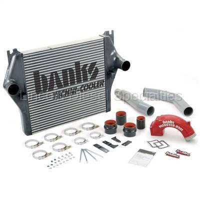 2003-2004 24 Valve, 5.9L Early - Intercoolers and Pipes - Banks - Banks Power Dodge/Cummins 5.9L, Techni-Cooler System (2003-2005)