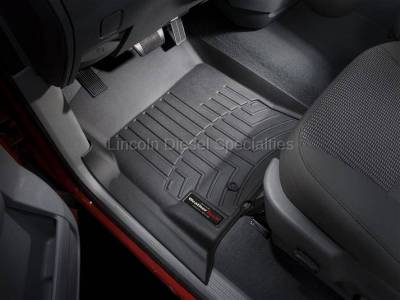 2003-2004 24 Valve, 5.9L Early - Interior Accessories - WeatherTech - WeatherTech Dodge/Ram Front Driver & Passenger Laser Measured Floor Liners (Black) 2003-2009