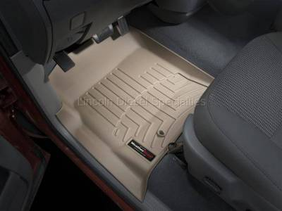 2003-2004 24 Valve, 5.9L Early - Interior Accessories - WeatherTech - WeatherTech Dodge/Ram Front Driver & Passenger Laser Measured Floor Liners (Tan) 2003-2009