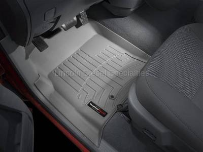 2003-2004 24 Valve, 5.9L Early - Interior Accessories - WeatherTech - WeatherTech Dodge/Ram Front Driver & Passenger Laser Measured Floor Liners (Grey) 2003-2009