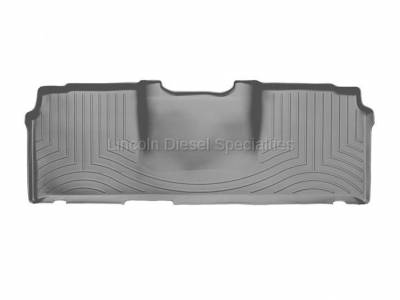 2003-2004 24 Valve, 5.9L Early - Interior Accessories - WeatherTech - WeatherTech Dodge/Ram Rear (2nd Row) Laser Measured Floor Liners, Mega Cab (Grey) 2006-2008