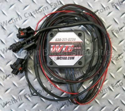 Fuel System - Aftermarket Fuel System - WCFab - Wehrli Custom Fab, Dodge/Cummins, Twin Cp3 Controller (2003-2012)