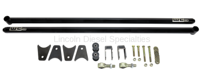 "2013-2020 24 Valve 6.7L - Suspension - WCFab - Wehrli Custom Fab Dodge, Ford, Universal 60"" Traction Bar Kit (RCLB, ECSB, CCSB)"