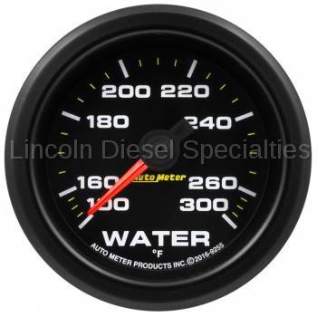 "Instrument Clusters/Gauges - Pods & Pillars - Auto Meter - Auto Meter Extreme Environment Series, 2 1/16"", Gauge, Water Temp. 300ºF, Stepper Motor w/Peak & Warning (Universal)"