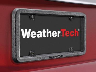 11-16 LML Duramax - Exterior Accessories - WeatherTech - WeatherTech BumpFrame® Heavy-Duty License Plate and Bumper Protector (Universal)