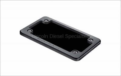 06-07 LBZ Duramax - Exterior Accessories - WeatherTech - WeatherTech Billet License Plate Frame, Black (Universal)