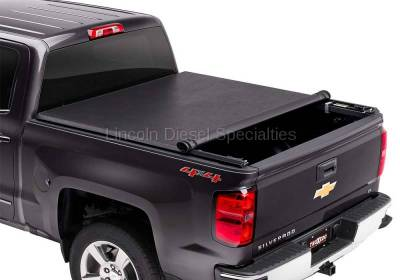 Exterior Accessories - Tonneau Covers - TRUXEDO - TRUXEDO TruXport GM/Duramax Soft Roll Up Truck Bed Tonneau Cover , 6.6Ft. Bed (2015-2019)