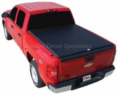 Exterior Accessories - Tonneau/Bed Covers - TRUXEDO - TRUXEDO EDGE, GM/Duramax  Soft Roll-up Tonneau Cover, 8 Ft. Bed (2001-2007)