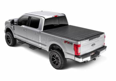 Exterior Accessories - Tonneau Covers - TRUXEDO - TRUXEDO SENTRY,  GM/Duramax Hard Rolling Truck Bed Tonneau Cover, 8Ft. (2015-2019)