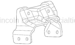 Engine - Components - GM - GM Engine Bracket Mount-Passenger Side (2001-2010)