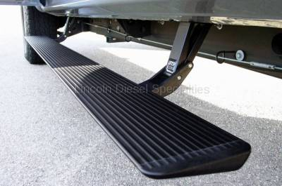 AMP RESEARCH - AMP RESEARCH PowerStep Electric Running Boards, Extended/Crew Cab (1999-2007)