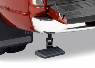AMP RESEARCH - AMP RESEARCH BedStep Retractable Bumper (Excludes Dual Exhaust & EcoDiesel Models) 2010-2019 - Image 2