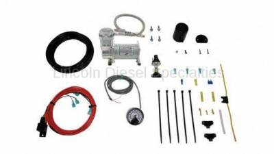 Suspension - Traction Bars - AIR LIFT - AirLift Single Path On-Board Air Compressor System with Heavy Duty Compressor