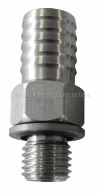 "Fuel System - Aftermarket Fuel System - Fleece - Fleece Performance 1/2"" CP3 Fuel Feed Fitting (Universal)"