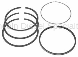 Engine - Pistons & Rings - Mahle OEM - Mahle Duramax Piston Ring Sets (8) .040 (2011-2016)