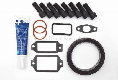 Engine - Components - Lincoln Diesel Specialities - LDS-Rear Engine Cover Install Kit (2001-2010)*
