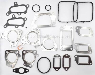 Fuel System - CP3 and CP4 Conversion and Catastrophic Failure Kits - Lincoln Diesel Specialities - CP4/CP3 Conversion / Catastrophic Failure Gasket Kit (2011-2016)