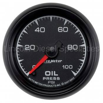 "Instrument Gauges/Pods/Hardware - Gauges - Auto Meter - Auto Meter  ES Series, 2 1/16"" Gauge, Oil Pressure 0-100 PSI, Stepper Motor (Universal)"