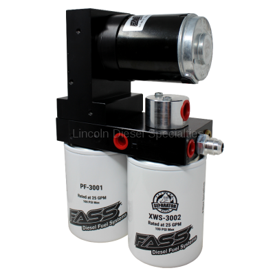 Lift Pumps - FASS - Fass - FASS Titanium Signature Series Diesel Fuel Lift Pump,100GPH (2001-2010)