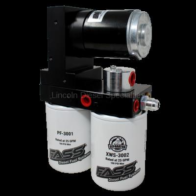 Lift Pumps - FASS - Fass - FASS Titanium Signature Series Diesel Fuel Lift Pump, 100GPH (2015-2016)