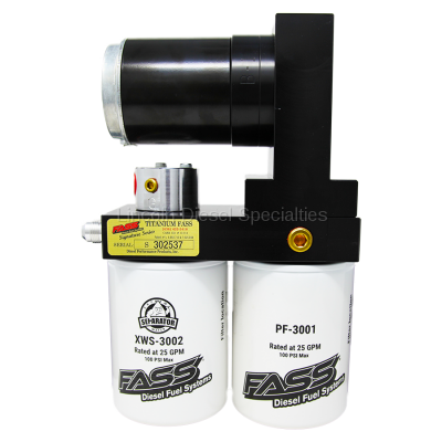 17+ L5P Duramax - Fuel System - Fass - FASS Titanium Signature Series Diesel Fuel Lift Pump, 220GPH (2017-2019)