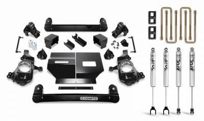 "Cognito MotorSports - Cognito Motorsports 4"" Standard Lift Kit  with Fox Shocks for Duramax (2020)"