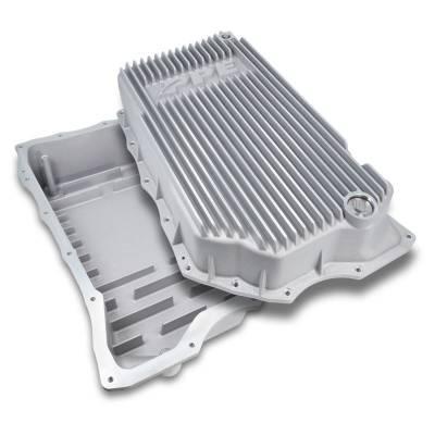 PPE Dodge/Cummins Transmission Pan 68RFE Flat Bottom (RAW) (2007.5-2021)